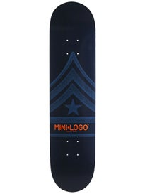 Mini Logo Quartermaster 124 Navy Deck  7.5 x 31.375