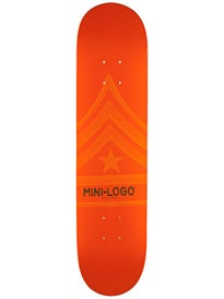 Mini Logo Quartermaster 124 Orange Deck  7.5 x 31.375
