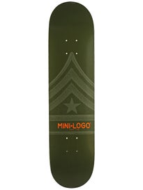 Mini Logo Quartermaster 126 Green Deck  7.625 x 31.625