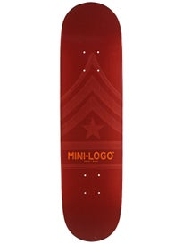 Mini Logo Quartermaster 191 Maroon Mini Deck 7.5x28.65