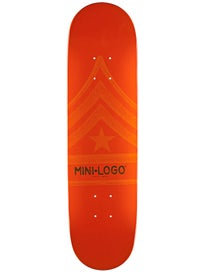 Mini Logo Quartermaster 191 Orange Mini Deck 7.5x28.65