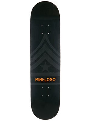 Mini Logo Quartermaster 127 Black Deck  8.0 x 32.125