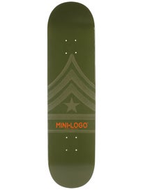 Mini Logo Quartermaster 170 Green Deck  8.25 x 32.5