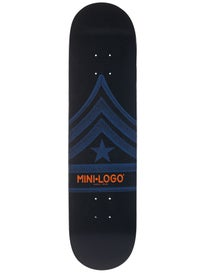 Mini Logo Quartermaster 127 Navy Deck  8.0 x 32.125