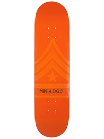 Mini Logo Quartermaster 127 Orange Deck  8.0 x 32.125
