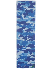 Mob Camo Perforated Griptape  Blue