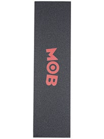 Mob Colored Logo Perforated Griptape  Red