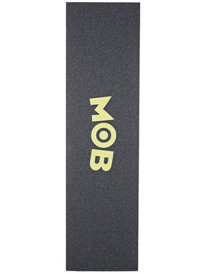 Mob Colored Logo Perforated Griptape  Yellow
