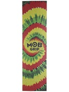 Mob Tie Dye Perforated Griptape  Rasta