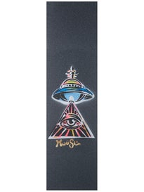 Mouse Eye See UFOs Hand Sprayed Griptape on Mob