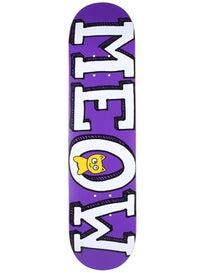 Meow Logo Mini Purple Deck  7.5 x 30