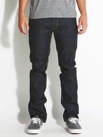 Matix Gripper Slim Straight Jeans Crude Indigo
