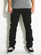 Matix Gripper Slim Straight Jeans True Black
