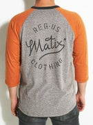 Matix Mill 3/4 Sleeve Raglan T-Shirt