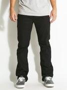 Matix Miner Classic Straight Jeans True Black