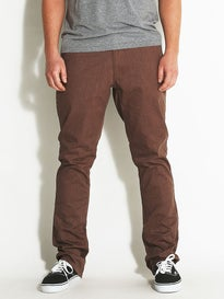 Matix Welder Classic Stretch Chino Pant Heather Brown