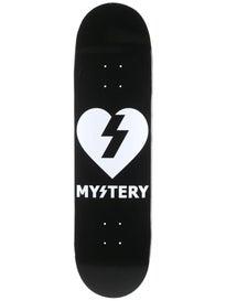 Mystery Heart Logo Deck  8.375 x 32
