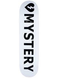 Mystery Logo White Deck 8.0 x 32