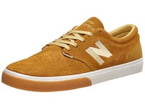 New Balance Numeric 345 Shoes Camel/White