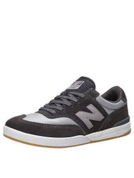 New Balance Numeric Allston Shoes  Grey/Black Suede