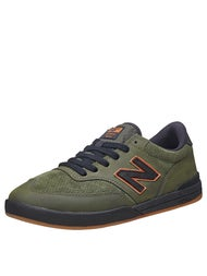 New Balance Numeric Allston 617 Shoes  Olive N-Dure