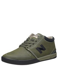 New Balance Numeric Brighton Hi LN Shoes  Olive N-Dure