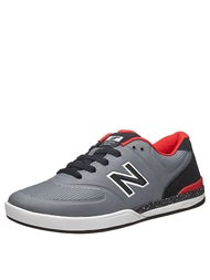 New Balance Numeric Logan 636 Shoes  Grey/Red