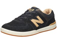 New Balance Numeric Logan-S 636 Shoes  Black/Tan Suede