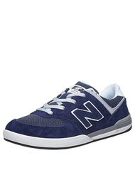 New Balance Numeric Logan-S 636 Shoes  Navy/Grey Suede