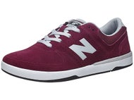 New Balance Numeric PJ Stratford Shoes  Burgundy Suede