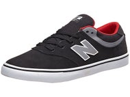 New Balance Numeric Quincy 254 Shoes Black/Grey/Red