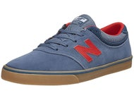 New Balance Numeric Quincy 254 Shoes Blue/Gum