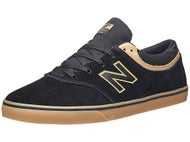 New Balance Numeric Quincy Shoes  Black/Tan Suede