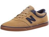 New Balance Numeric Quincy 254 Shoes Tan/Navy