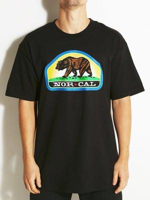 Nor Cal Park Ranger Tee Black SM