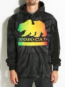 Nor Cal Rasta Bear Hoodie