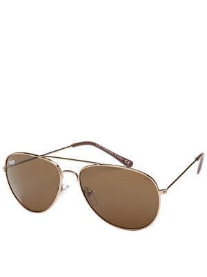 Neff Bronz Sunglasses Gold