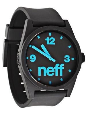 Neff Daily Watch Black/Cyan