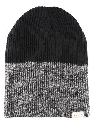 Neff Duo Stripe Beanie Black Heather/Black
