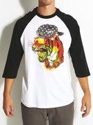 Neff Fang 3/4 Sleeve Raglan T-Shirt