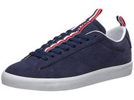 Nike SB Blazer Low Prm 917 QS Shoes Obsidian/Wht-Red