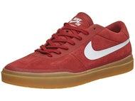 Nike SB Bruin Hyperfeel Shoes  Dk Cayenne/White/Gum