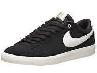 Nike SB Blazer Low Grant Taylor QS Shoes  Black/Sail