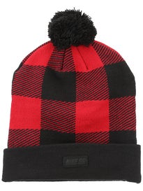 Nike SB Buffalo Plaid Pom Beanie