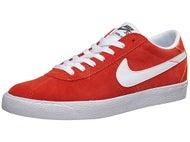 Nike SB Bruin Premium SE Shoes Max Orange/White