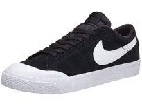 Nike SB Blazer Low XT Shoes Black/White-Gum