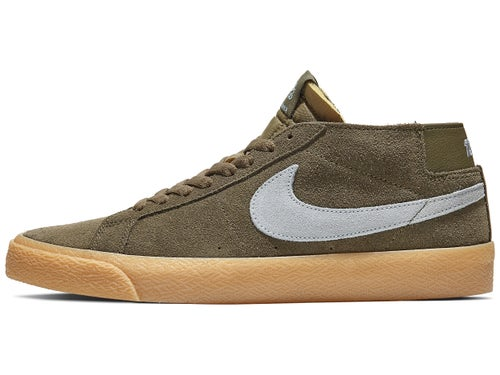 buy popular 64aec d0135 Nike SB Blazer Chukka Shoes Medium Olive/Armory Blue - Skate ...