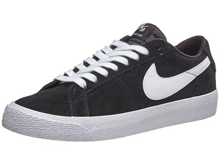 ... Nike SB Blazer Low Shoes Black White ... eb30763c33c5