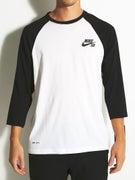 Nike SB Dri-Fit 3/4 Sleeve Crew Shirt
