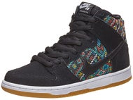 Nike SB Dunk High Premium Shoes Black/Rio Teal/White